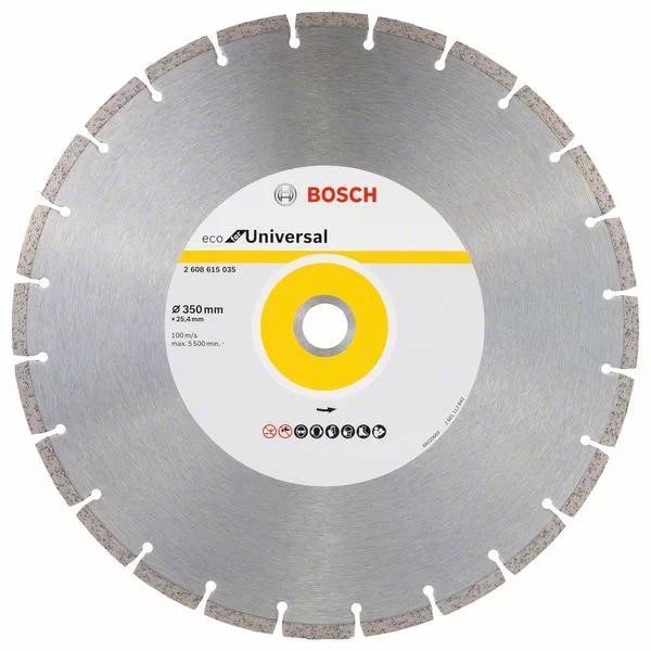 Диск алмазный 350*25,40мм Eco for Universal BOSCH