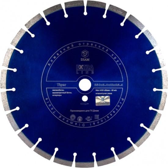 Диск алмазный 400*25,4*3,0*12мм Диамир Железобетон TIGER Extra Line