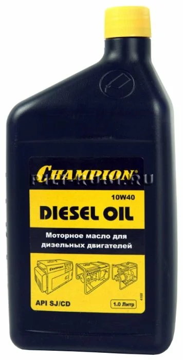 Масло 4Т 1л SAE10W40 CHAMPION дизельное