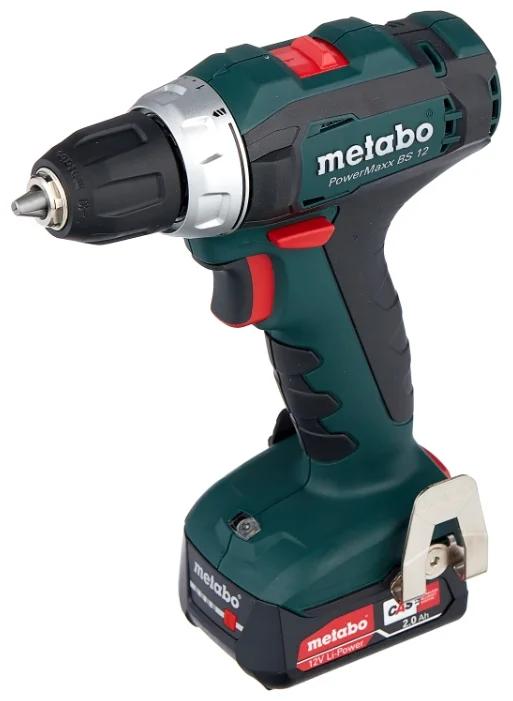 Дрель акк. METABO PowerMaxx BS 12 2.0А/ч