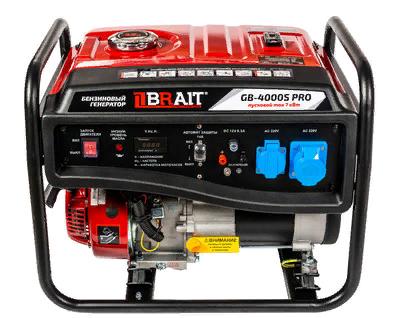 Генератор бенз. BRAIT GB-4000S PRO