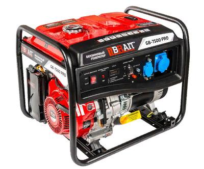 Генератор бенз. BRAIT GB-7500 PRO