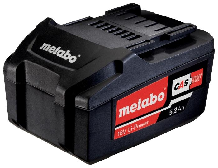 Аккумулятор METABO 18В 5,2Ач LI-Power Extreme
