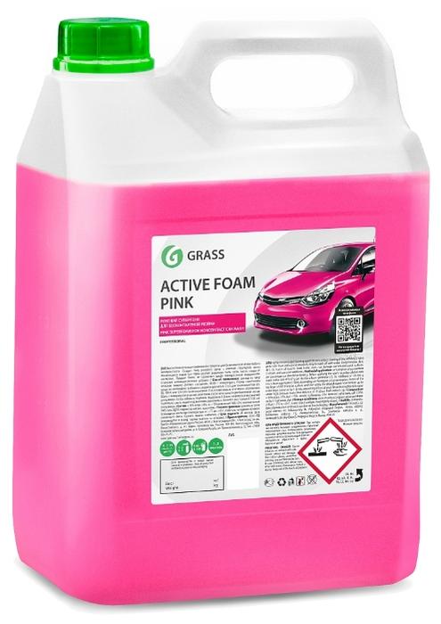 Химия бесконтактная Active Foam Pink 5л GraSS